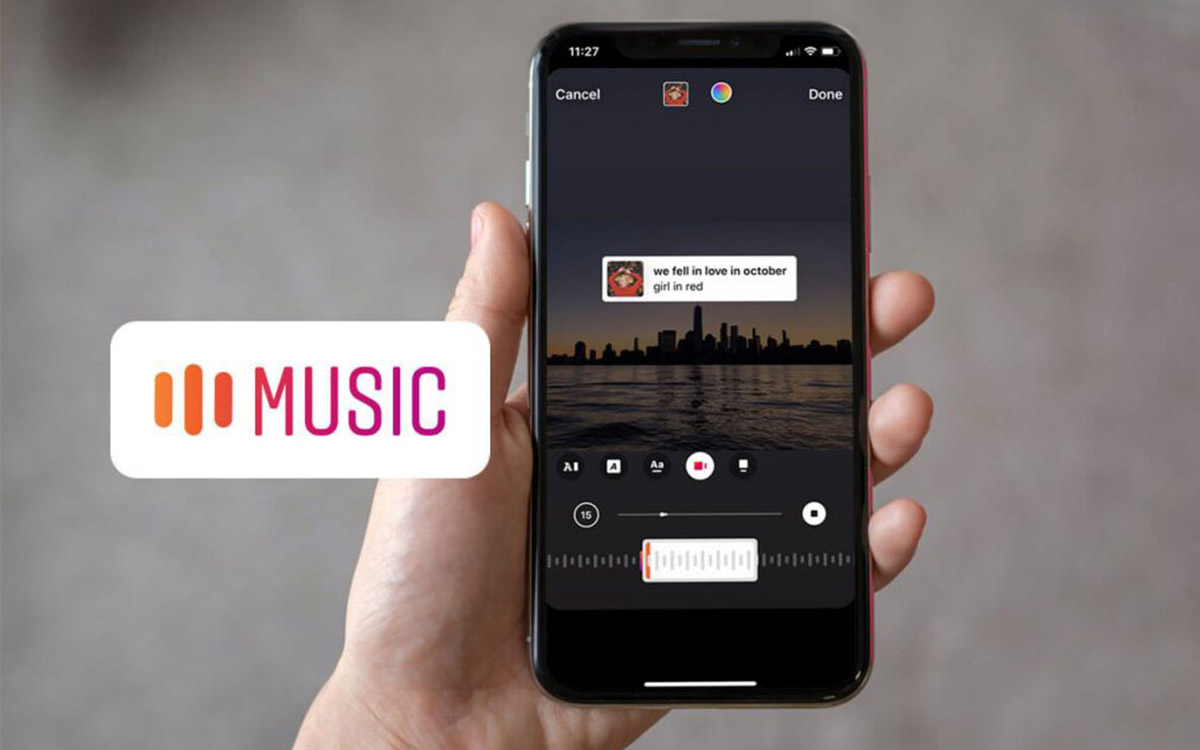 Add Music to Instagram Stories